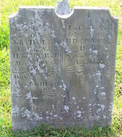 MERCER, INFANT SON - Frederick County, Maryland | INFANT SON MERCER - Maryland Gravestone Photos