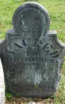 MILLER, ELIZABETH JANE - Frederick County, Maryland | ELIZABETH JANE MILLER - Maryland Gravestone Photos