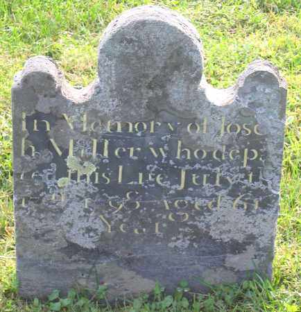 MILLER, JOSEPH - Frederick County, Maryland | JOSEPH MILLER - Maryland Gravestone Photos