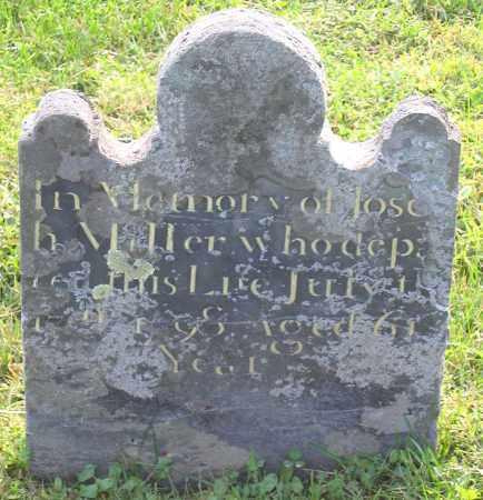 MILLER, JOSEPH - Frederick County, Maryland   JOSEPH MILLER - Maryland Gravestone Photos