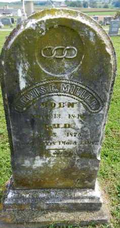 MILLER, LEWIS - Frederick County, Maryland | LEWIS MILLER - Maryland Gravestone Photos