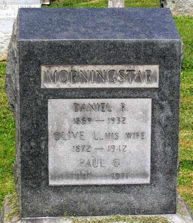 MORNINGSTAR, DANIEL R. - Frederick County, Maryland | DANIEL R. MORNINGSTAR - Maryland Gravestone Photos