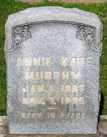 MURPHY, ANNIE KATE - Frederick County, Maryland | ANNIE KATE MURPHY - Maryland Gravestone Photos