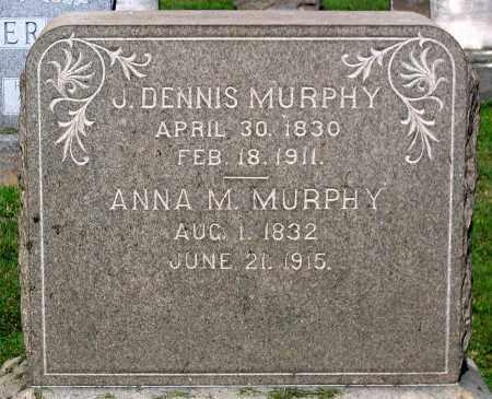 MURPHY, J. DENNIS - Frederick County, Maryland | J. DENNIS MURPHY - Maryland Gravestone Photos