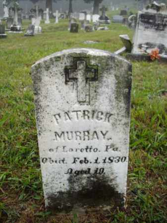 MURRAY, PATRICK - Frederick County, Maryland | PATRICK MURRAY - Maryland Gravestone Photos