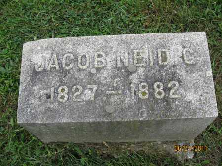 NEIDIG, JACOB - Frederick County, Maryland   JACOB NEIDIG - Maryland Gravestone Photos
