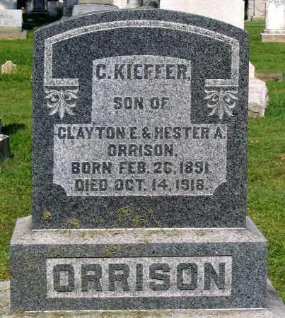ORRISON, C. KEIFFER - Frederick County, Maryland | C. KEIFFER ORRISON - Maryland Gravestone Photos