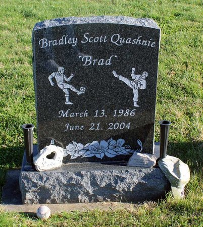 QUASHNIE, BRADLEY SCOTT - Frederick County, Maryland | BRADLEY SCOTT QUASHNIE - Maryland Gravestone Photos