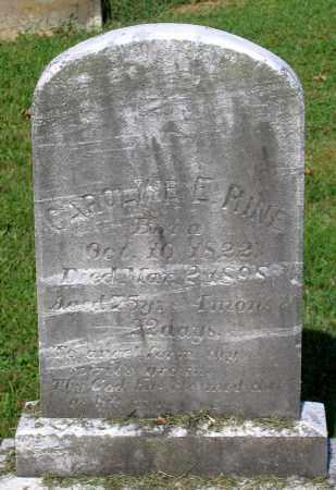 RINE, CAROLINE E. - Frederick County, Maryland | CAROLINE E. RINE - Maryland Gravestone Photos
