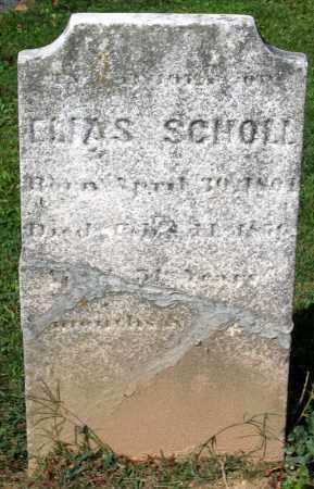 SCHOLL, ELIAS - Frederick County, Maryland | ELIAS SCHOLL - Maryland Gravestone Photos