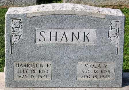 SHANK, HARRISON F. - Frederick County, Maryland | HARRISON F. SHANK - Maryland Gravestone Photos