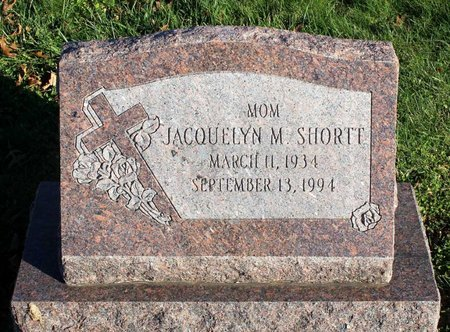 SHORTT, JACQUELYN M. - Frederick County, Maryland | JACQUELYN M. SHORTT - Maryland Gravestone Photos