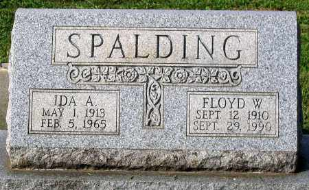 SPALDING, IDA A. - Frederick County, Maryland | IDA A. SPALDING - Maryland Gravestone Photos
