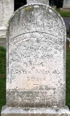 THOMAS, EZRA M. - Frederick County, Maryland | EZRA M. THOMAS - Maryland Gravestone Photos