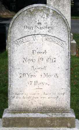 THOMAS, NINA V. - Frederick County, Maryland   NINA V. THOMAS - Maryland Gravestone Photos