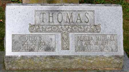 THOMAS, BERTHA - Frederick County, Maryland | BERTHA THOMAS - Maryland Gravestone Photos