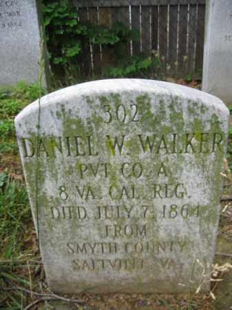 WALKER (CW), DANIEL W. - Frederick County, Maryland | DANIEL W. WALKER (CW) - Maryland Gravestone Photos