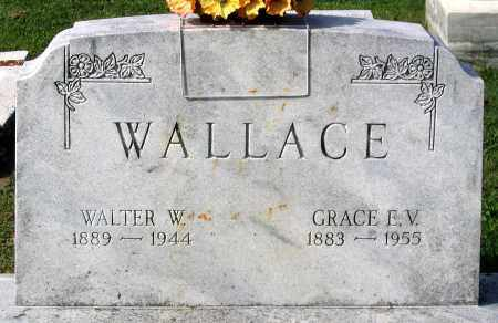 WALLACE, GRACE E. V. - Frederick County, Maryland | GRACE E. V. WALLACE - Maryland Gravestone Photos