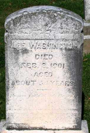 WASHINGTON, LEE - Frederick County, Maryland | LEE WASHINGTON - Maryland Gravestone Photos