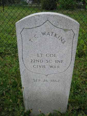 WATKINS (CW), T. C. - Frederick County, Maryland | T. C. WATKINS (CW) - Maryland Gravestone Photos