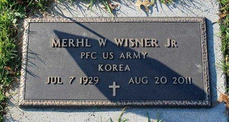 WISNER, MERHL W. JR. - Frederick County, Maryland | MERHL W. JR. WISNER - Maryland Gravestone Photos