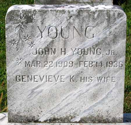 YOUNG, JOHN H. - Frederick County, Maryland | JOHN H. YOUNG - Maryland Gravestone Photos