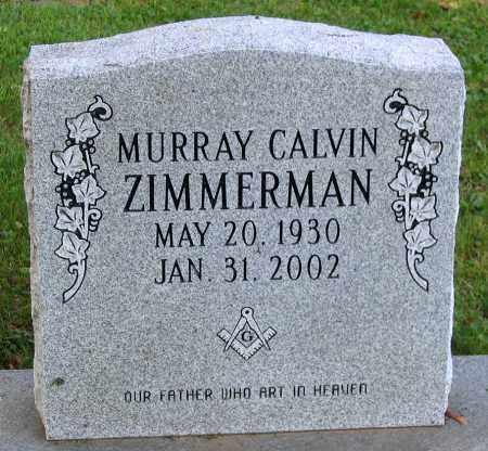 ZIMMERMAN, MURRAY CALVIN - Frederick County, Maryland | MURRAY CALVIN ZIMMERMAN - Maryland Gravestone Photos