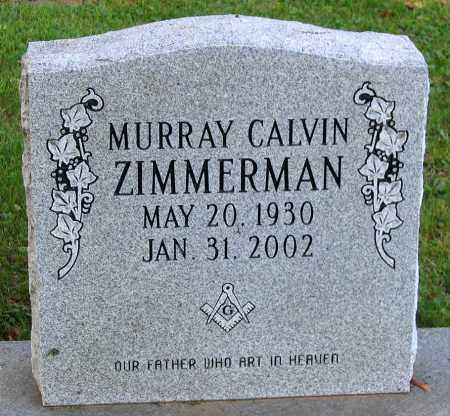 ZIMMERMAN, MURRAY CALVIN - Frederick County, Maryland | MURRAY CALVIN ZIMMERMAN - Maryland Gravestone Photos