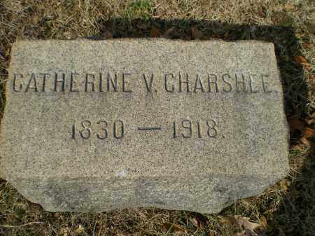CHARSHEE, CATHERINE V. - Harford County, Maryland | CATHERINE V. CHARSHEE - Maryland Gravestone Photos