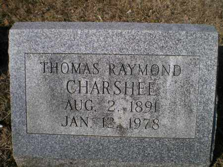 CHARSHEE, THOMAS RAYMOND - Harford County, Maryland | THOMAS RAYMOND CHARSHEE - Maryland Gravestone Photos