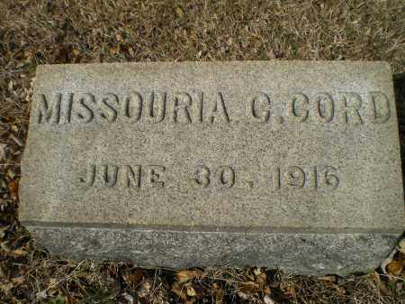 CHARSHEE CORD, MISSOURIA C. WYATT - Harford County, Maryland   MISSOURIA C. WYATT CHARSHEE CORD - Maryland Gravestone Photos