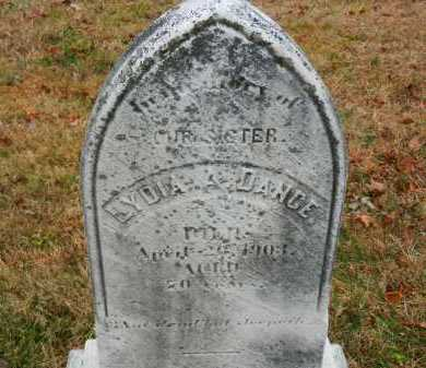 DANCE, LYDIA A. - Harford County, Maryland | LYDIA A. DANCE - Maryland Gravestone Photos