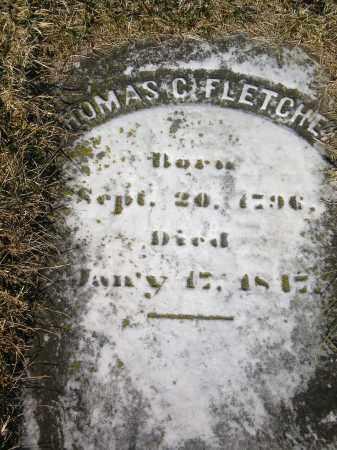 FLETCHER, THOMAS CARPENTER - Harford County, Maryland | THOMAS CARPENTER FLETCHER - Maryland Gravestone Photos