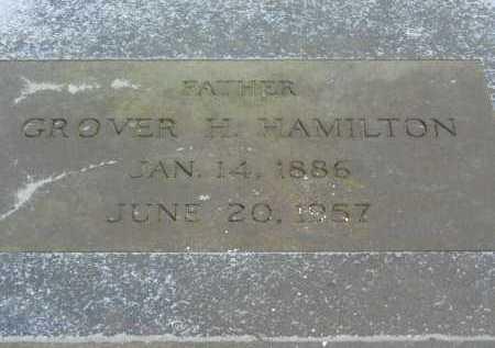 HAMILTON, GROVER H. - Harford County, Maryland | GROVER H. HAMILTON - Maryland Gravestone Photos