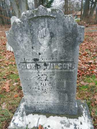 HAWKINS, JOHN WILSON - Harford County, Maryland | JOHN WILSON HAWKINS - Maryland Gravestone Photos