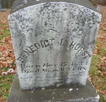 HURST, BENEDICT L. - Harford County, Maryland | BENEDICT L. HURST - Maryland Gravestone Photos