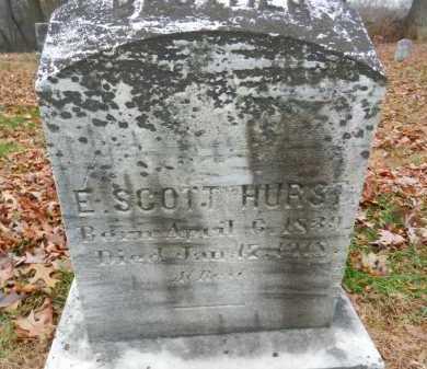 HURST, E. SCOTT - Harford County, Maryland | E. SCOTT HURST - Maryland Gravestone Photos