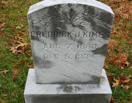 KIMES, FREDRICK J. - Harford County, Maryland | FREDRICK J. KIMES - Maryland Gravestone Photos