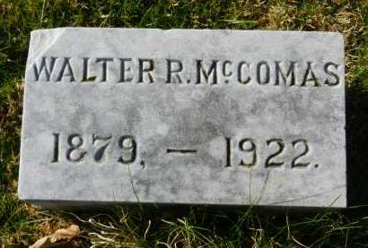 MCCOMAS, WALTER R - Harford County, Maryland | WALTER R MCCOMAS - Maryland Gravestone Photos