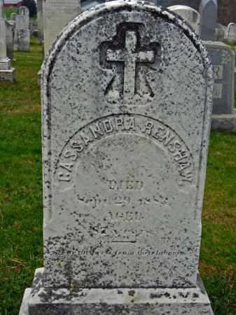 RENSHAW, CASSANDRA - Harford County, Maryland | CASSANDRA RENSHAW - Maryland Gravestone Photos