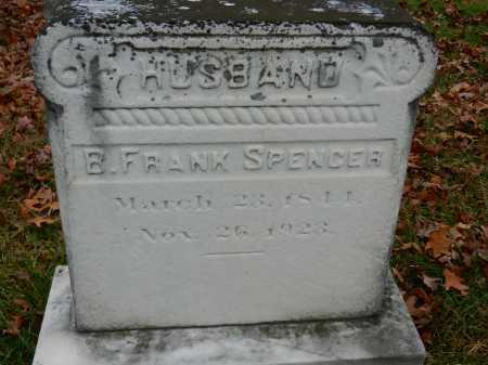SPENCER, B. FRANK - Harford County, Maryland | B. FRANK SPENCER - Maryland Gravestone Photos