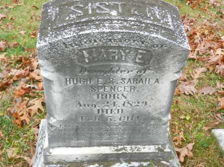 SPENCER, MARY E. - Harford County, Maryland | MARY E. SPENCER - Maryland Gravestone Photos