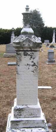 ALCORN, JOHN - Howard County, Maryland | JOHN ALCORN - Maryland Gravestone Photos