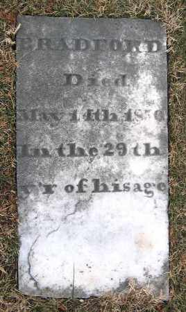 BRADFORD, UNKNOWN MALE - Howard County, Maryland | UNKNOWN MALE BRADFORD - Maryland Gravestone Photos