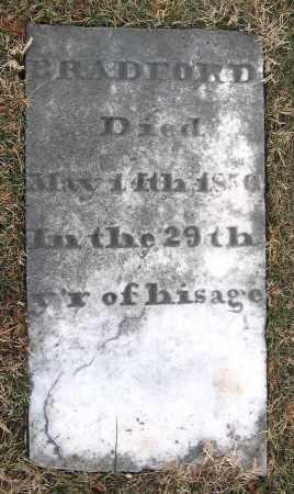BRADFORD, UNKNOWN MALE - Howard County, Maryland | UNKNOWN MALE BRADFORD - Maryland Gravestone Photos