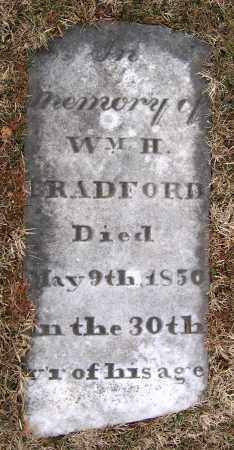 BRADFORD, WILLIAM H. - Howard County, Maryland | WILLIAM H. BRADFORD - Maryland Gravestone Photos