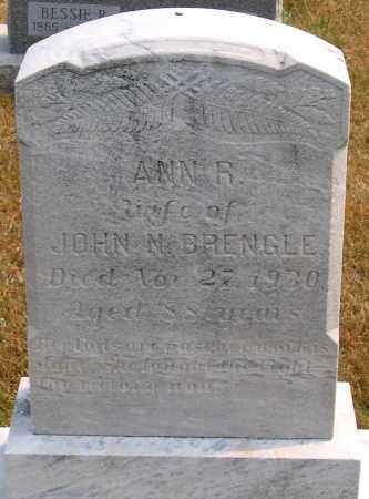 BRENGLE, ANN R. - Howard County, Maryland   ANN R. BRENGLE - Maryland Gravestone Photos