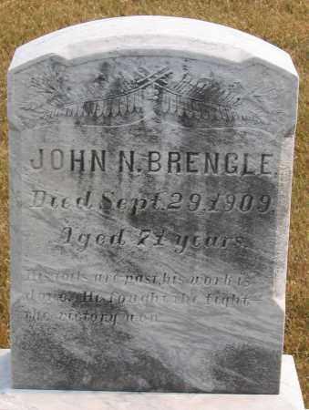 BRENGLE, JOHN N. - Howard County, Maryland | JOHN N. BRENGLE - Maryland Gravestone Photos