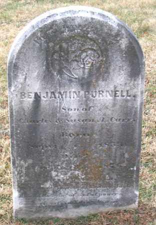 CARR, BENJAMIN PURNELL - Howard County, Maryland | BENJAMIN PURNELL CARR - Maryland Gravestone Photos