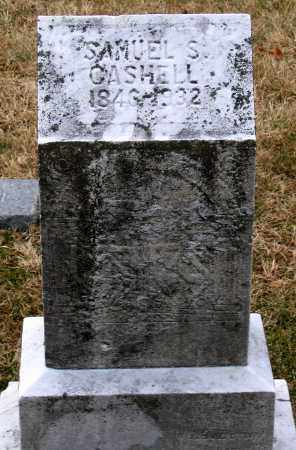 CASHELL, SAMUEL S. - Howard County, Maryland | SAMUEL S. CASHELL - Maryland Gravestone Photos